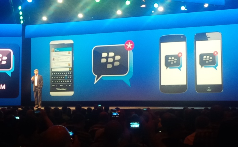 BlackBerry Plans To Launch BBM Across Multiple Platforms This Summer