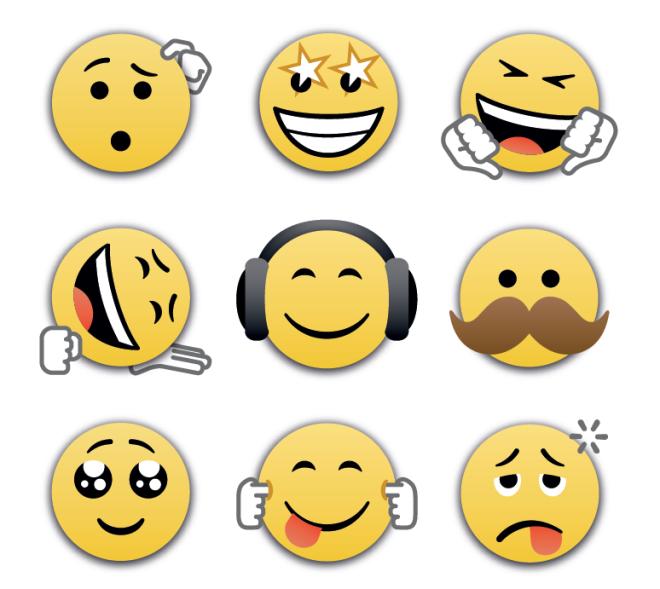New BBM Emoticons
