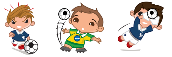 BBM Soccer Stickers