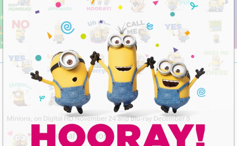 BBM Sticker Update: Free Minion Pack and Contests in South Africa, Nigeria andUAE