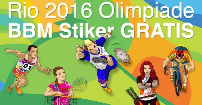 BBM Olympics Stickers