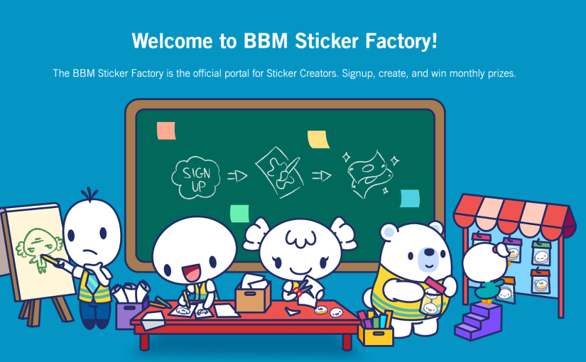 Calling All Sticker Artists! Be Discovered on BBM StickerFactory