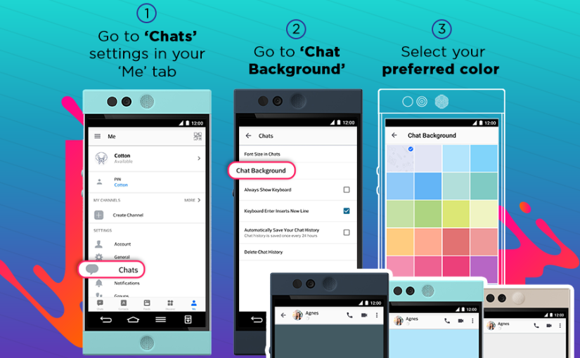 BBM Messenger's Latest Release Includes a Customisable Chat Background, FREE Custom PIN, New Discover Grid View, Faster File Sending andMore