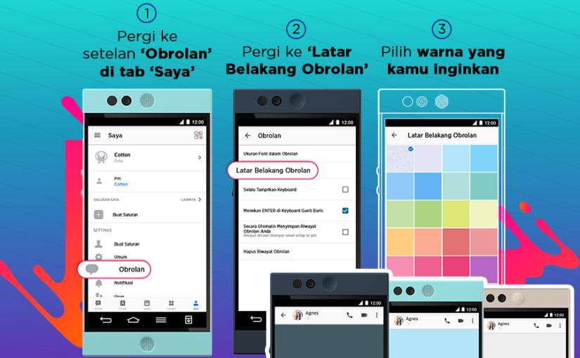 Versi Terbaru BBM Messenger Menawarkan Latar Chat yang Dapat diubah Sesuai Keinginan, Custom PIN Gratis, Tampilan Baru Menu Discover, Pengiriman File Lebih Cepat, dan BanyakLagi