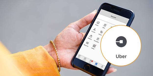Pengguna BBM Kini Bisa Pesan Uber, Langsung DariBBM