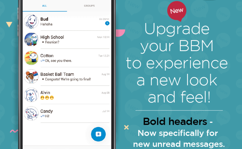 Latest BBM Messenger Offers Editable Custom PINs, Improved Photo and Video Sharing, Refined Chat Screen, andMore!