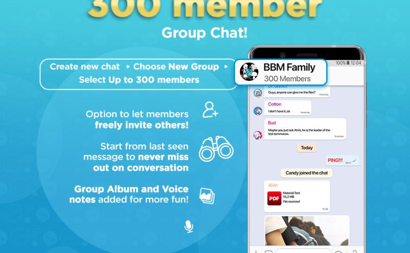 BBM Messenger Lengkapi Versi Terbaru dengan Fitur Grup yang Lebih Besar,  BBM Desktop Beta, Akun Resmi dan Berbagai Fitur MenarikLainnya