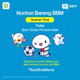 Channel_PostI_NontonBarengBBM-Today---Sport-Stube-Pondok-Indah