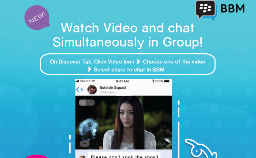 New BBM Brings Faster Sign-in, Video Watching in Group Chats While Messaging, Timeline for iOS and More to Enhance Your Experience