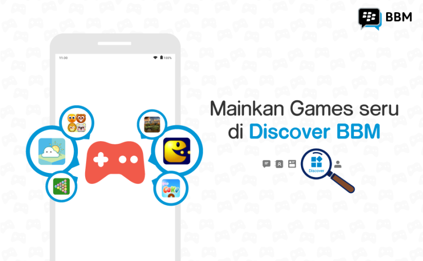 BBM Launches Instant Games to Users in Indonesia