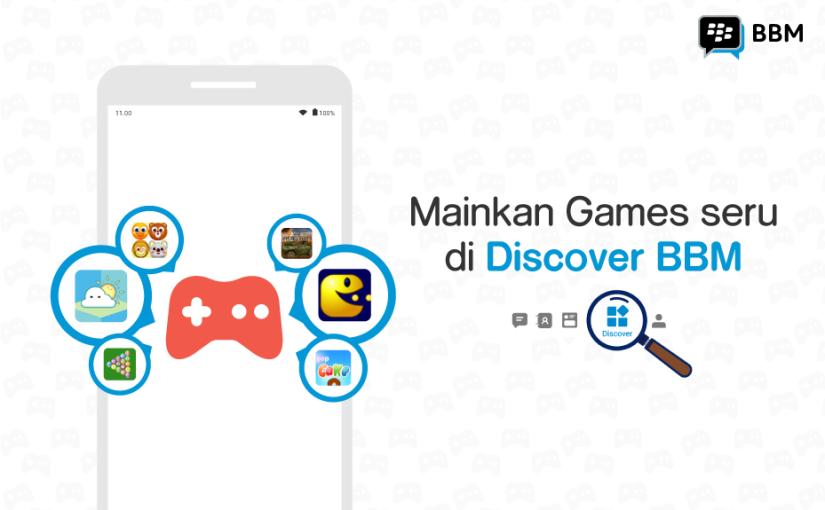 BBM Luncurkan Instant Games untuk PenggunaIndonesia