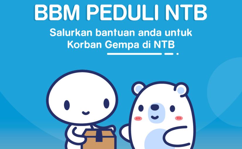 Donasi Peduli NTB diBBM