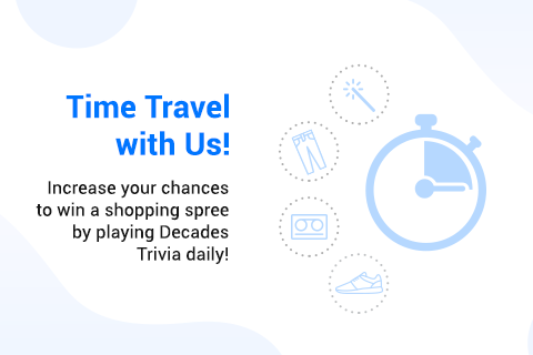 Time Travel with BBM Messenger's 'Decades Trivia Challenge' to Win Shopping Sprees in Canada and the US