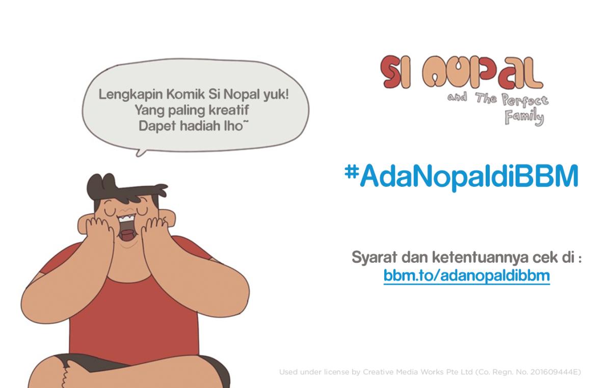 Kuis #AdaNopalDiBBM