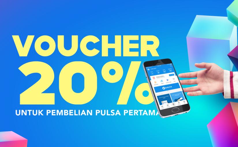 Gratis Voucher 20% Untuk Pembelian PulsaPertama